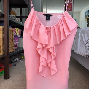 Nice pink blouse 👚